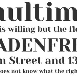 Yeseva One free font